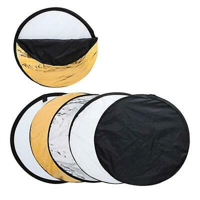 5 in 1 Collapsible Disc Photography Studio Photo Panel Light Reflector Diffuser