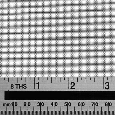Woven Wire 30 Mesh 0.6mm hole 250µm wire Stainless Steel Insect Screen Filter