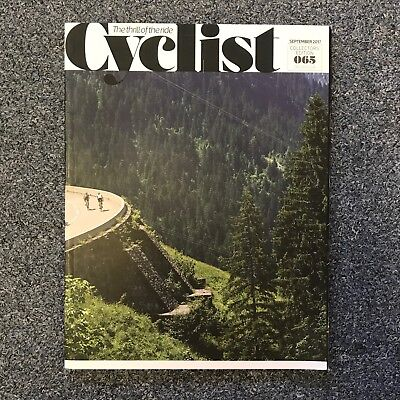 CYCLIST Magazine Issue 65 - September 2017 Collectors Edition cycling
