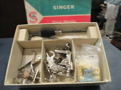 Vintage Singer Sewing Machine Attachments F/Class 404 Machines F/Slant Needle