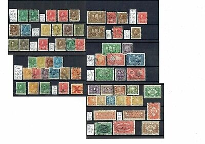 J251 Canada GV collection M/U on 5cards incl a few Excise, War Tax etc. c£400+