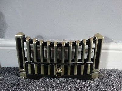 bargain! Cast Iron Gas/Electric Fire Decorative Grate Cover in Two parts