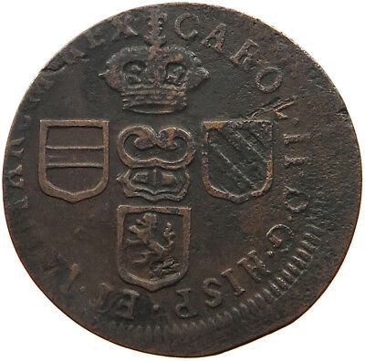 SPANISH NETHERLANDS LIARD 1699 OFF-CENTER #t65 035