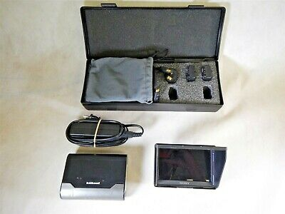 """Sony CLM-V55 HDMI 5"""" Clip-On LCD On-Camera Monitor Peaking With Extras Q5"""