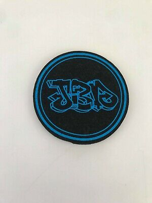 Jerome Baker Designs - Circle Mat Pad Coaster - Jbd Circle - Blue - Uv Reactive