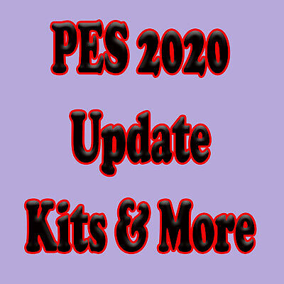 PES 2020 Kits Logos & More Update PS4 Pro Evolution Soccer USB Logos SENT TODAY