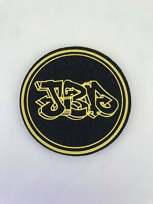 Jerome Baker Designs - Circle Mat Pad Coaster - Jbd Circle - Yello - Uv Reactive