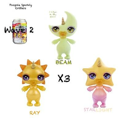POOPSIE Sparkly Critters Drop 2 •STARLIGHT• The Star NEW /& SCENTED