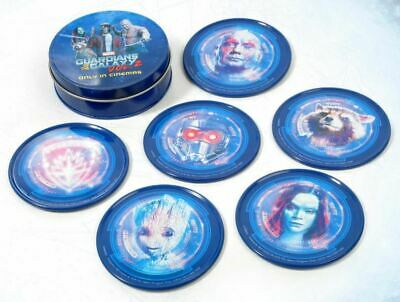 Marvel Guardians of the Galaxy Vol. 2 LIMITED EDITION METAL COASTER SET