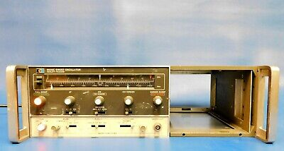 Agilent HP Keysight 8620C Sweeper Mainframe w Opt 011 Untested
