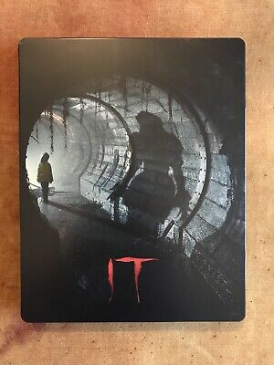 IT (2017) Blu Ray Steelbook UK HMV Exclusive Limited Edition (and HMV Sticker)