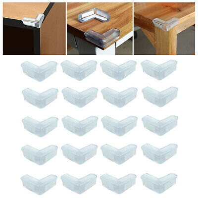 20x Table Desk Corner Edge Protector Guard Soft Cushion Safety Cover Baby Child