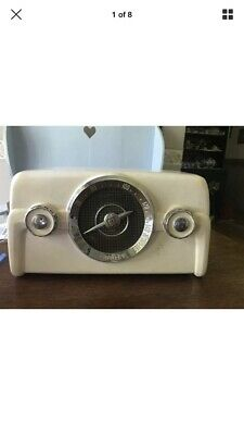 ANTIQUE 1949 CROSLEY 10-137 COLORADIO DASHBOARD TUBE RADIO Parts Or repair