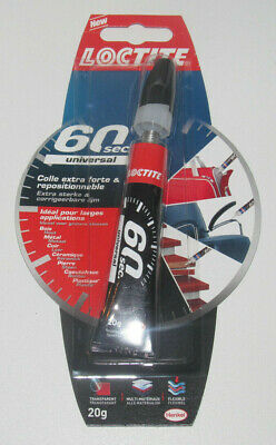 Tube de Colle Exra Forte & Repositionnable Loctite 60 sec 20g NEUF