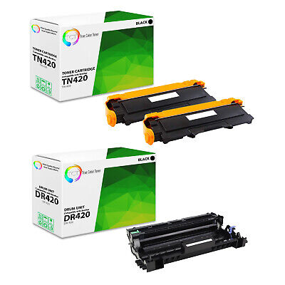 3Pk TCT Compatible Brother TN420 HL 2240 2270dw MFC7360 Toner & Drum Set