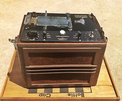 Antique Endocardiograph Milwaukee Medical Instrument 1909-1920s