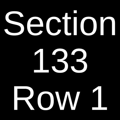 2 Tickets Chris Brown, Tory Lanez, Ty Dolla Sign & Joyner Lucas 9/1/19