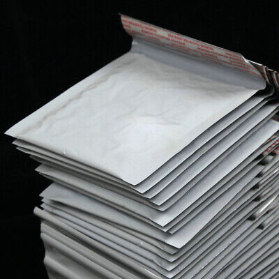 Poly Bubble Mailers Padded Envelopes Shipping Bags Self Seal 8 Sizes Hot 5PCS