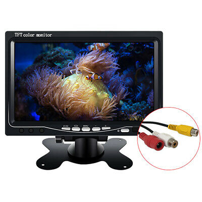 7inch LCD TFT Color Car Monitor Screen for Rear View Reverse Backup Truck Camera