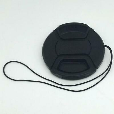 55MM Snap-On Front Lens Caps Cover Protect for DSLR Camera Camcorder w/ String