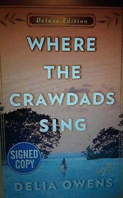 Where The Crawdads Sing Hardcover Deluxe Signed Edition Delia Owens