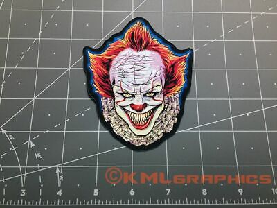 Pennywise IT decal sticker horror Chapter 2 two movie clown teeth Stephen King
