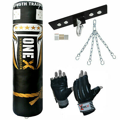 5ft boxing Punch Bags Filled kick Boxed MMA Muay Thai Martial arts training Set