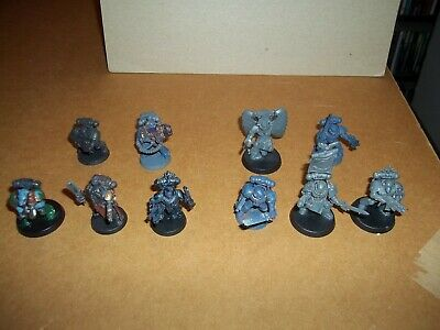 Warhammer 40k Space Marines Blood Angels x 5 Space Wolves x 5