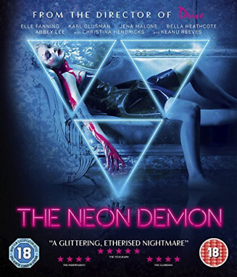 The Neon Demon (UK IMPORT) Blu-Ray NEW