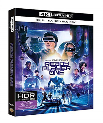 Ready Player One (4K Uhd+Blu-Ray) - (Italian Import) (UK IMPORT) BLU-RAY NEW