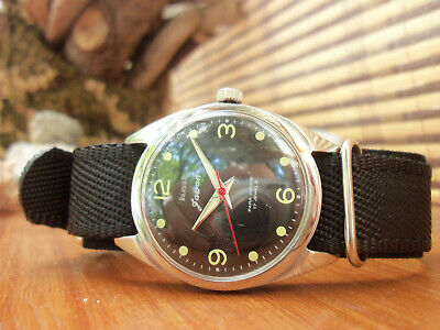 HMT Jawan-Orologio Uomo Vintage Militare a Carica Manuale - Hand Winding Watch