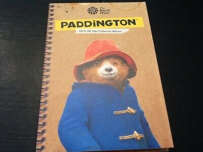 BRAND NEW 2019 PADDINGTON BEAR 50p COLLECTORS ALBUM TOWER CATHEDRAL FREE POSTAGE