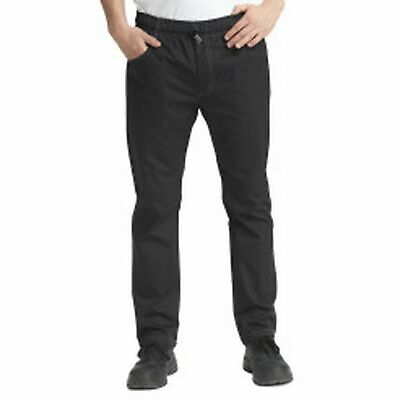Le Chef Mens Slim Fit Chefs Prep Trousers (Pack of 2) (BC4310)