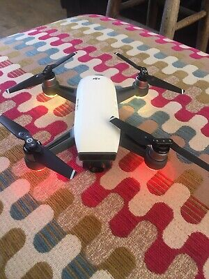 Dji spark fly more combo alpine white great condition