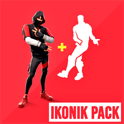 Fortnite iKONIK Bundle (Skin & Emote) - (PC, Xbox, PS4, Android) Quick Delivery