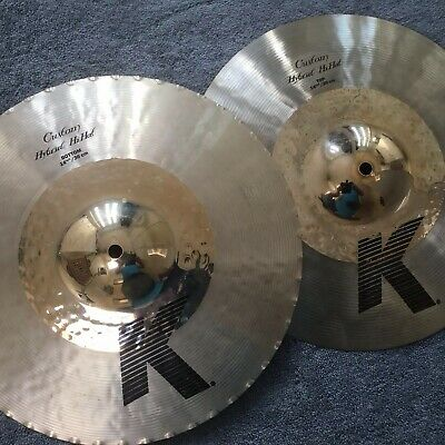 Zildjian 14 1/4 K Hybrid hi hats - excellent condition