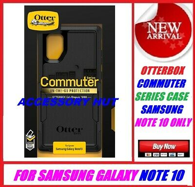 New Otterbox Commuter Case for Samsung Galaxy Note 10  ONLY Black 77-63883