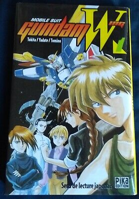 Manga - Mobile SUit Gundam Wing - Vol 1 - Pika Editions - FR