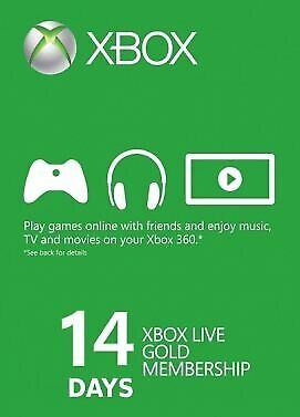 Xbox ONE Live Gold 14 Days Membership (Only New Accounts) Email Delivery 🎮🔑