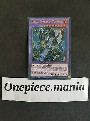 Yu-gi-oh! Colosse Dragon du Tonnerre MP19-FR183