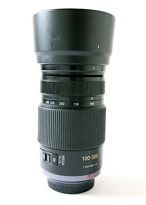 Panasonic LUMIX G Vario 100-300mm F/4.0-5.6 Mega O.I.S. G Camera Lens