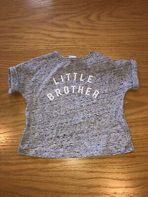Next Little Brother T-shirt - Age 3-6 Months