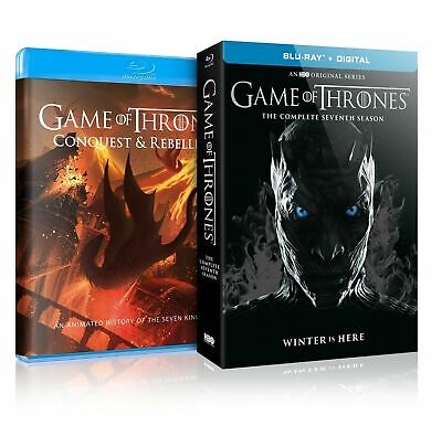 Game of Thrones The Complete Seventh Season (Blue-ray, 2017)