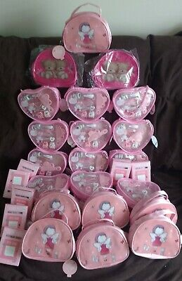 Job Lot 32 Girls Lula & Friends Hand Bags, Hair Sets, Notelet Sets - Party Bags