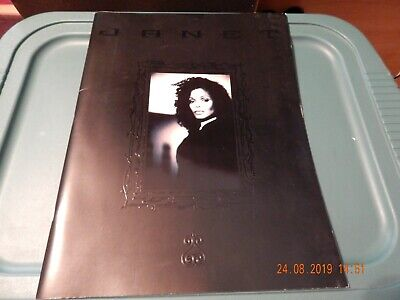 JANET JACKSON 1998 Velvet Rope Tour Concert Program Book