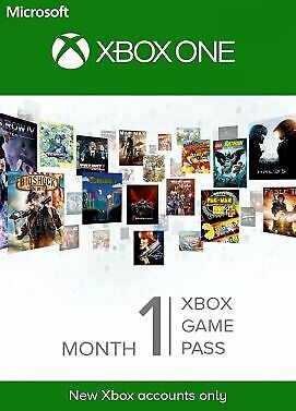 Xbox Game Pass 1 Month Trial Xbox ONE (Only New Accounts) Fast Email Delivery🎮