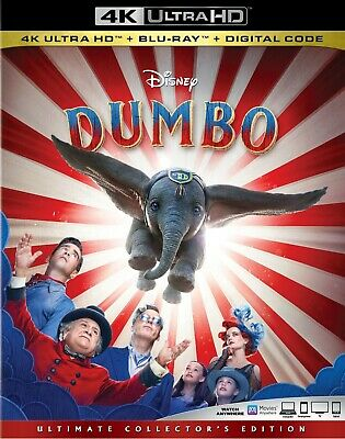 Dumbo - Brand New Sealed Ultimate Collectors Edition Blu-Ray 2019