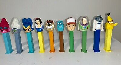 BULK LOT: x 10  Different  PEZ Dispensers