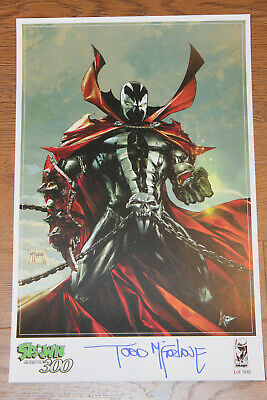 Spawn #300 Fan Expo Canada EXCLUSIVE 11x17 print SIGNED McFarlane SIGNED 1/500!