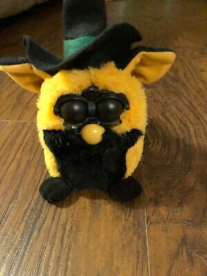 Vintage Limited Edition Autumn Witch Furby Tiger 1999 Collectible